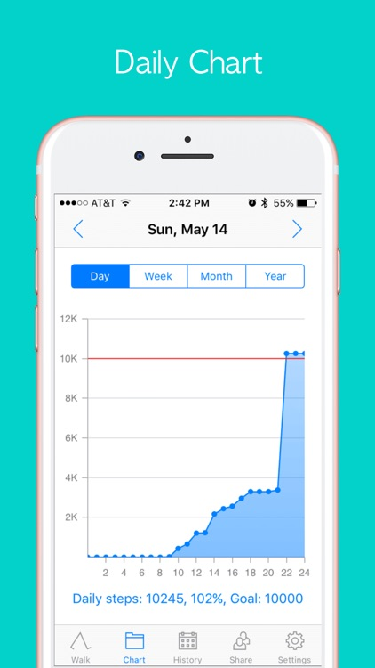 StepOn Step Tracker screenshot-3