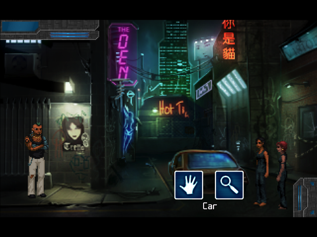 Technobabylon Screenshot