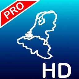Aqua Map: Netherlands & Belgium - Nautical Charts