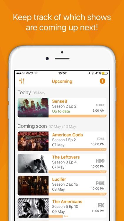 Showrunner - The smart way to track TV Shows screenshot-0