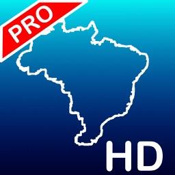 Aqua Map Brazil HD Pro GPS Offline Nautical Charts