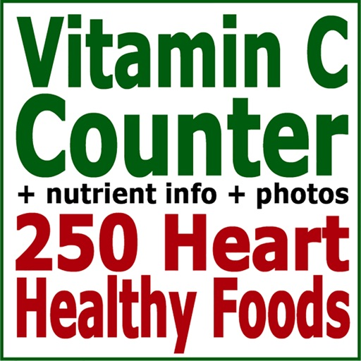 Vitamin C Counter & Tracker for Healthy Food Diets