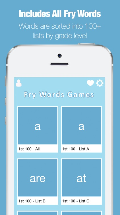 Fry Words Games and Flash Cards