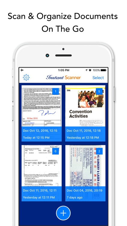 Instant Scanner Pro: Scan & Annotate PDF Documents screenshot-2