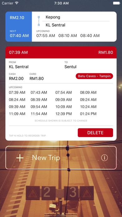Railway.my - KTMB Schedules & Fares screenshot three