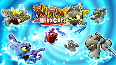 Screenshot #1 pour Ninja Hero Cats