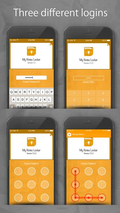 Notes Lock – Password Note screenshot three