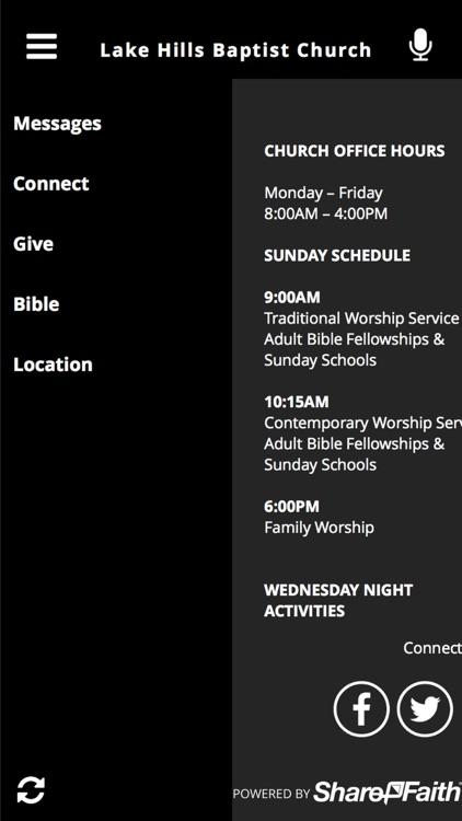 Lake Hills Baptist Church screenshot-4