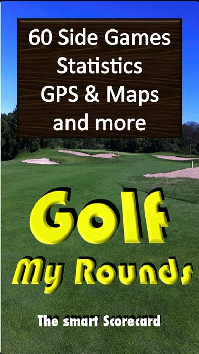 Screenshot for Golf My Rounds in United Kingdom App Store