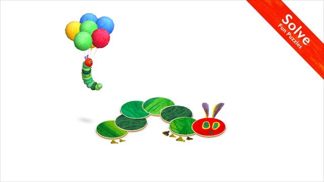 Very Hungry Caterpillar Shapes Screenshot