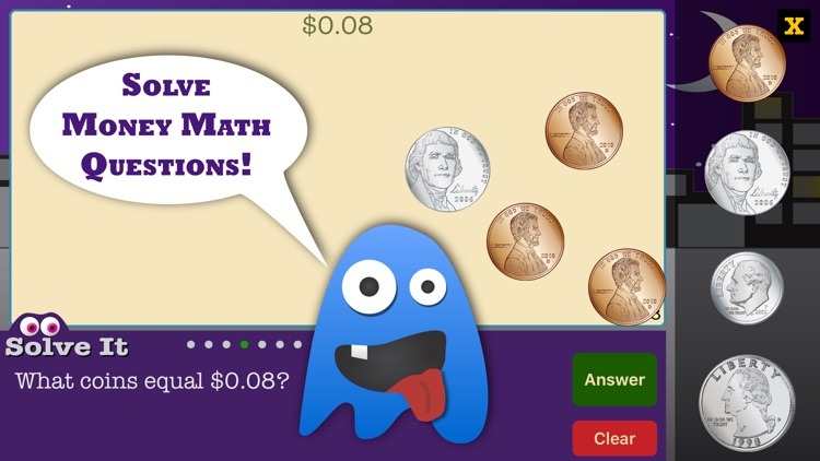 Coin Monsters - Math Games
