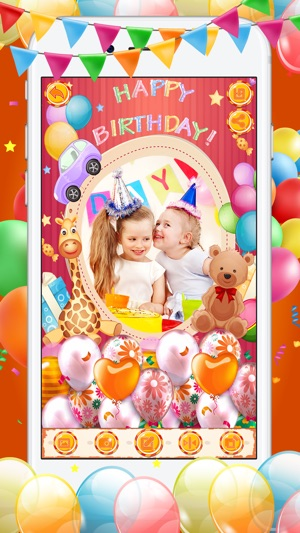 Happy Birthday Photo Editor 4