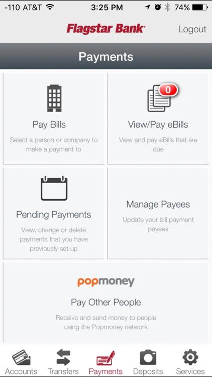 Flagstar Bank for iPhone screenshot-3