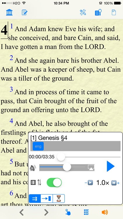 Bible KJV (Book and Audio) screenshot-4