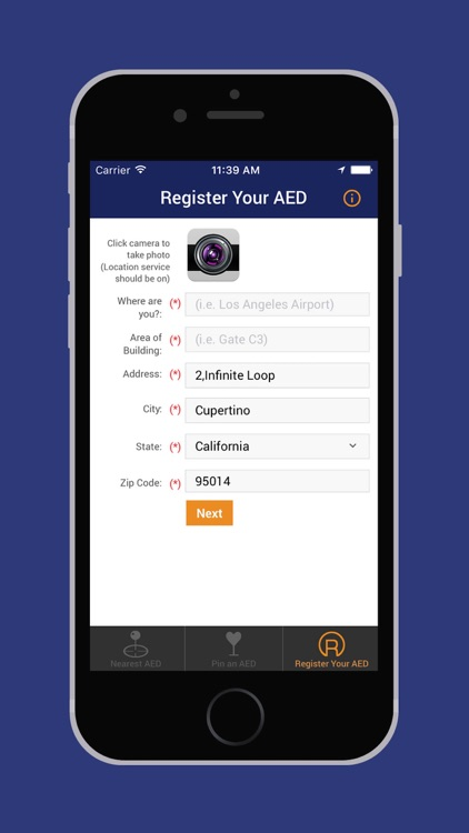 AED Registry screenshot-4