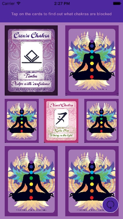 Reiki Chakra Cards screenshot-3