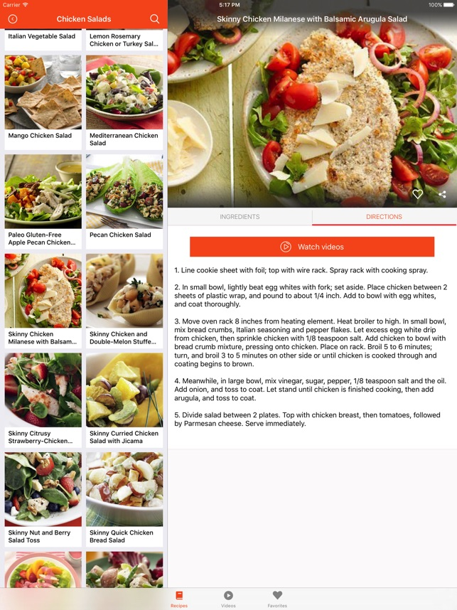 healthy chicken recipes food recipes cookbook on the app store