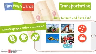 Screenshot #6 for Sami Tiny Flashcards Transportation Kids Apps