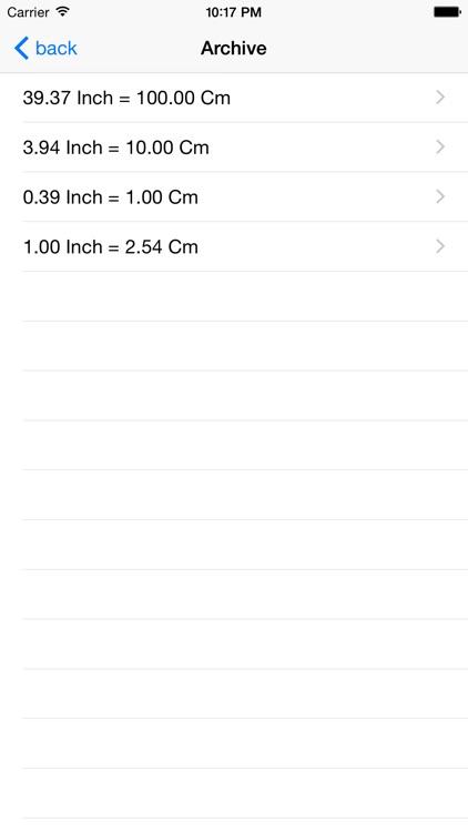 Inch Centimeter screenshot-3