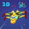 X-Wing Starship Commando Flight 3D