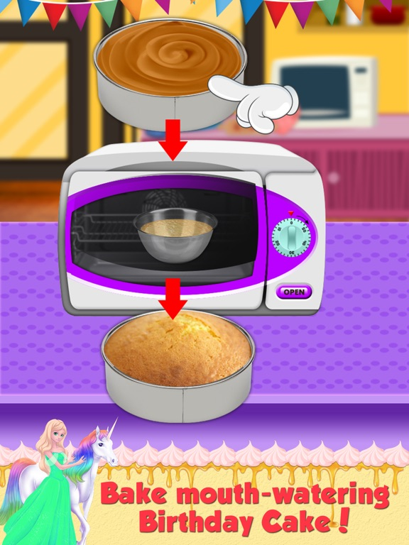 Screenshot 3 For Birthday Cake Maker Make And Bake Delicious Cakes