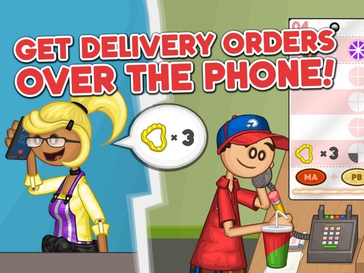 Papa's Pizzeria HD screenshot-3