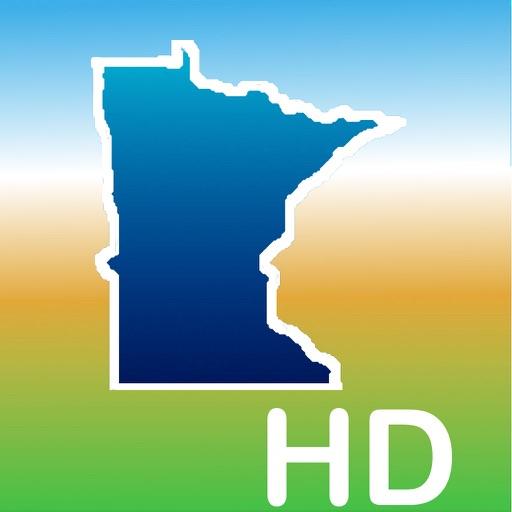 Aqua Map Minnesota MN Lakes HD - Nautical Charts