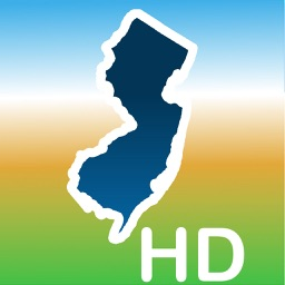 Aqua Map New Jersey NJ Lakes HD - Nautical Charts