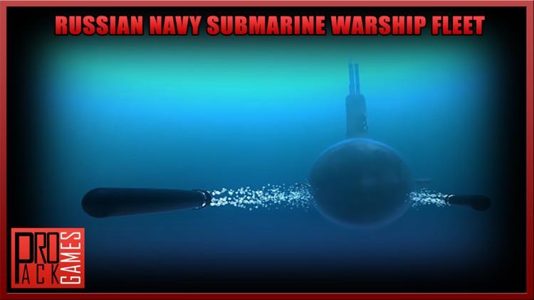 Russian Navy Submarine Battle - Naval Warship Sim screenshot-3
