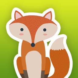 Woodland Animals - Cute Animal Stickers