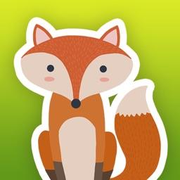Woodland Animals - Cute Animal Stickers