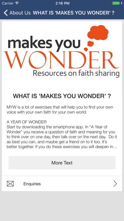 Makes You Wonder screenshot-4
