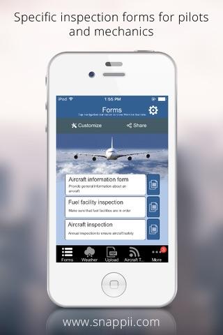 Aircraft Inspection App - náhled