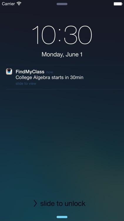 Find My Class screenshot-4