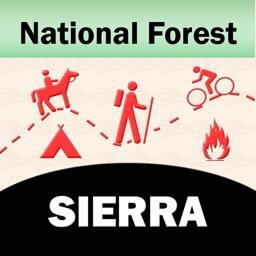 Sierra National Forest – GPS Offline Map Navigator