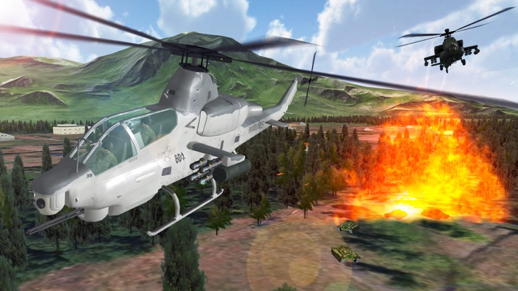 Air Cavalry - Helicopter Combat Flight Simulator screenshot-3