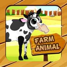 Activities of Farm Animals Parts Puzzle for kids