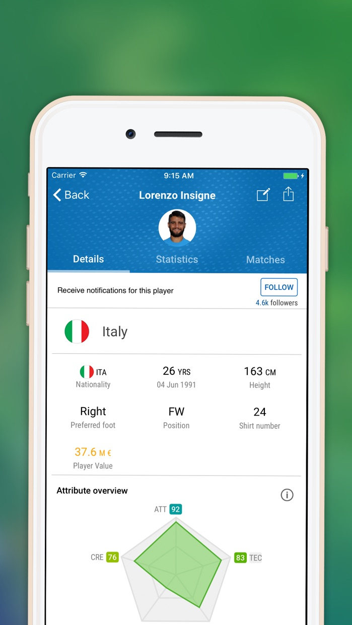 Live Scores football with OPTA stats by SofaScore Screenshot