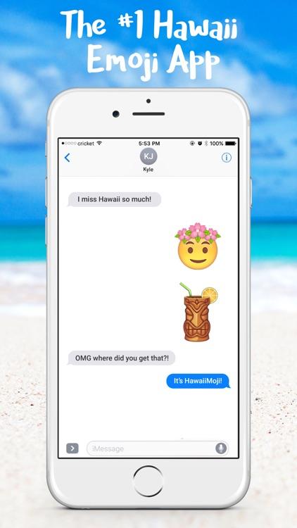 HawaiianMoji - Hawaii Food & Drink Emoji Stickers