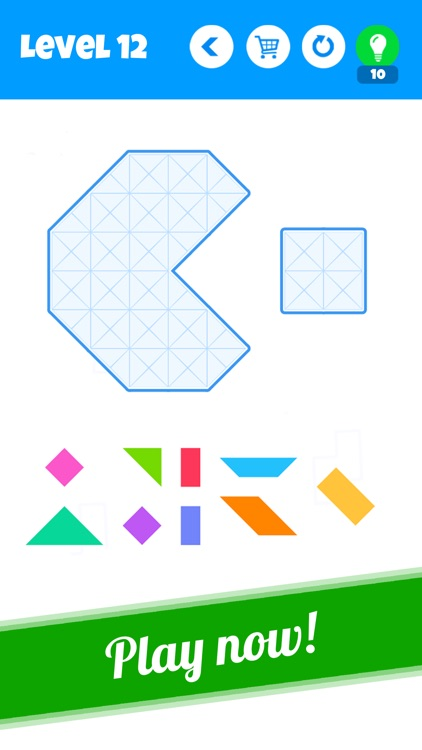Blocks - New Tangram Puzzles screenshot-3