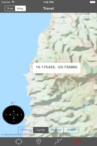 CAPE VERDE (SANTIAGO I) – GPS Travel Map Navigator screenshot 2