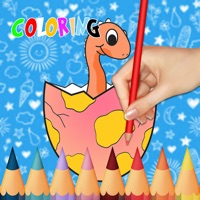 Codes for Dinosaur Coloring Books for Kids Toddler Game Free Hack