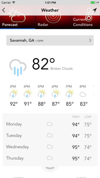 WSAV Mobile - Savannah, GA screenshot-3