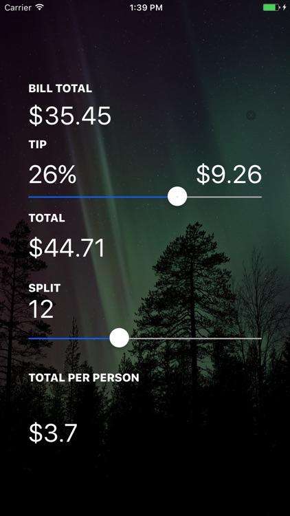 Extreme Tip Calculator Pro screenshot-3