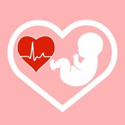 Baby heartbeat monitor – Fetal baby heart listener