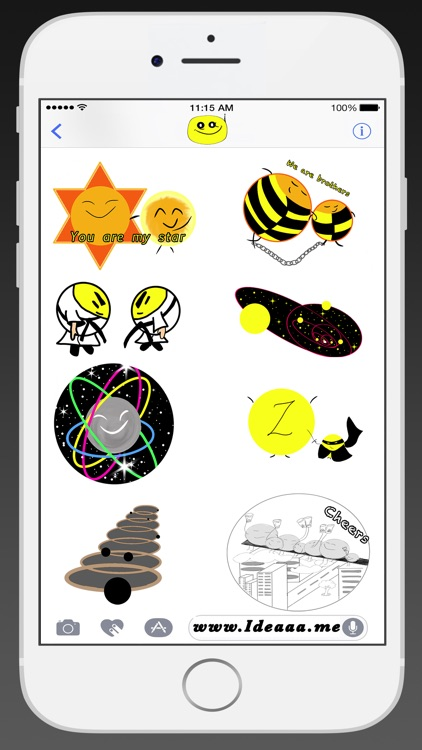 Ideaaa stickers:New planets screenshot-4