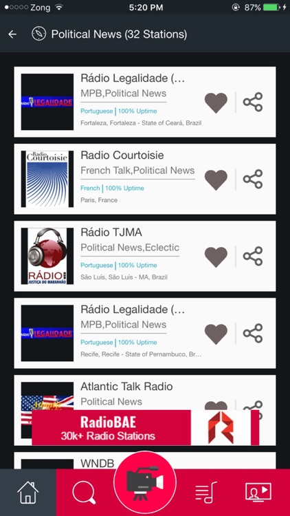 Political News Radio