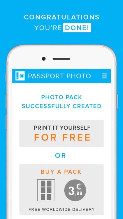 Passport Photo Generator screenshot-3
