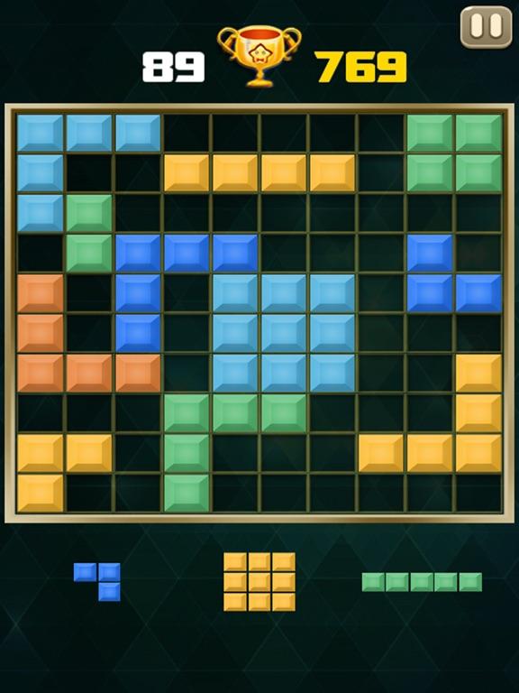 Блок головоломка: кирпич классический для iPad