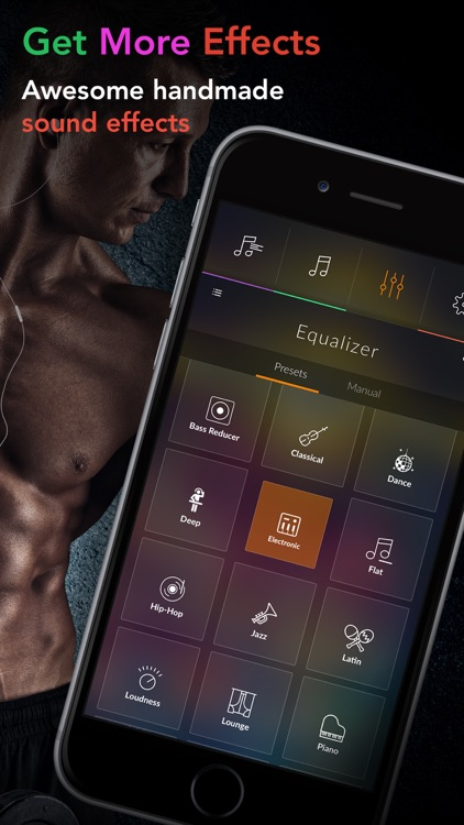 Equalizer + Volume Booster player&sound effects eq screenshot-3